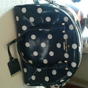 Kate spade satchel with duster.